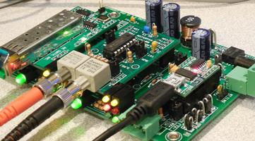 transmissão de dados RS232